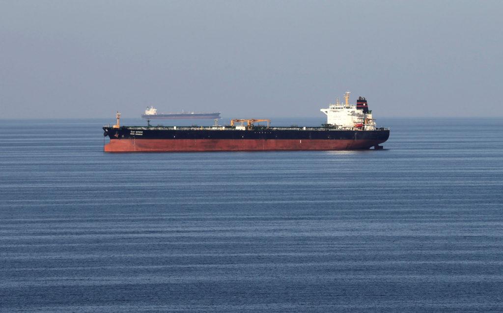 伊朗革命衛隊並未公布油輪的船名或是登記國家。AP圖片