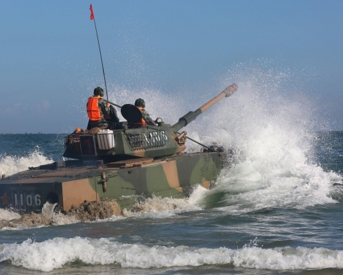 台媒引述情報部門 解放軍將登東山島兩棲演習