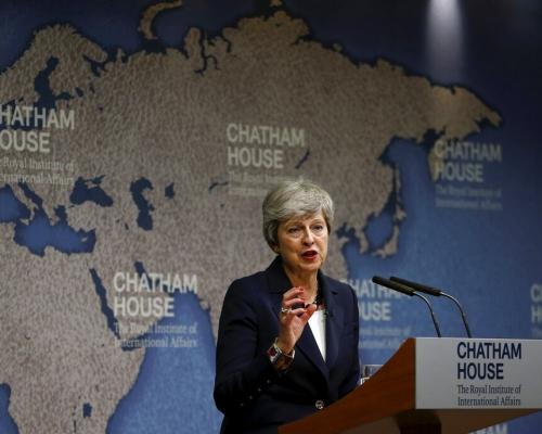 文翠珊離任前發表重要演說 憂世界政治對立加劇