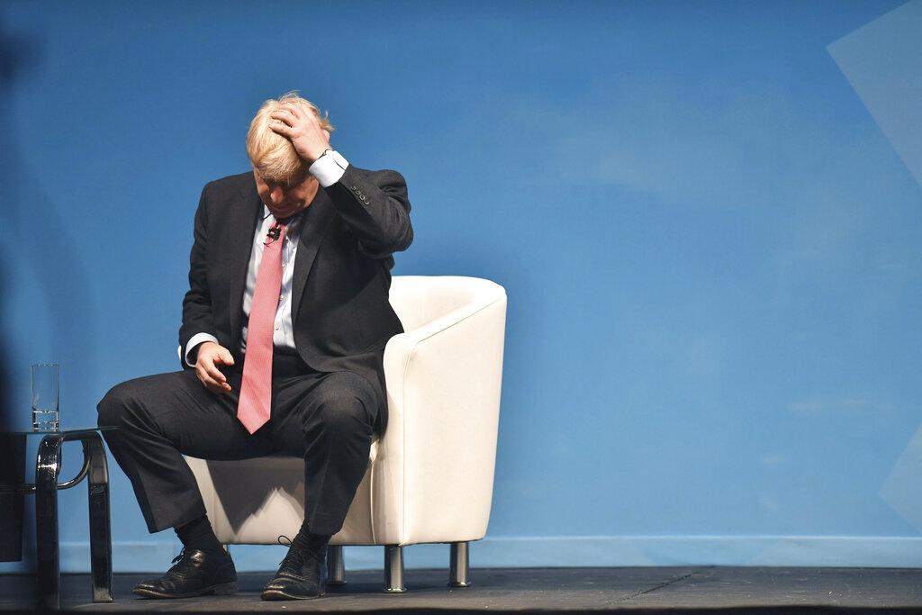 有3名內閣大臣準備在約翰遜成為首相的同一天,集體辭職。 AP