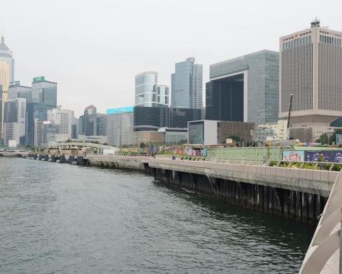 【中環海濱】關注組向城規會申請 倡將大部分軍事碼頭用地劃作休憩用途