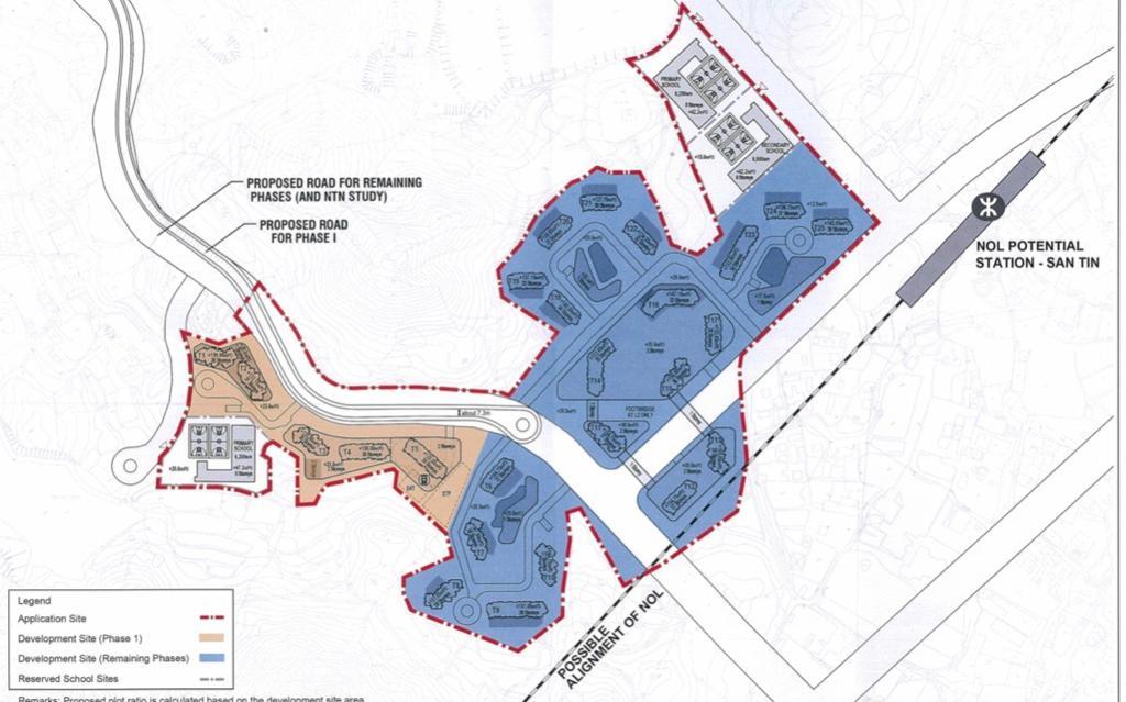 新地及置地元朗石湖圍項目 申建11292伙