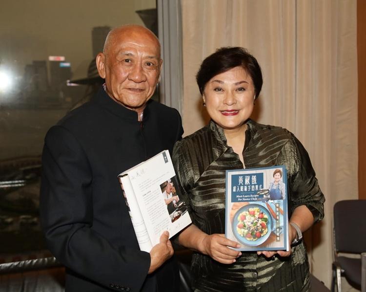 鼎爺與Gigi姐交流廚藝數十年,笑言最嬲當年對方沒接受他追求。