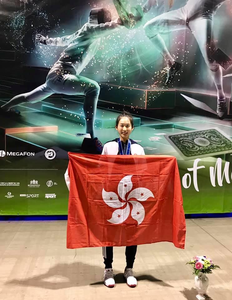 江旻憓四強不敵最終奪標的巴西老將卡丹莎美,但仍為香港奪此賽事史上首面獎牌。相片由劍總提供
