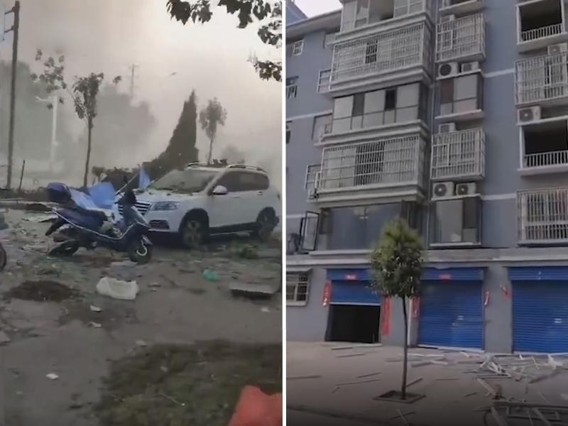 河南三門峽義馬市氣化廠今天發生爆炸事故。