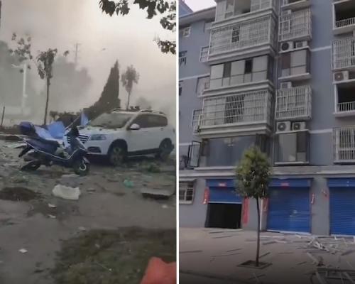 河南三門峽氣化廠發生爆炸  至少2死18重傷