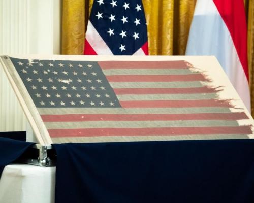 登陸諾曼第美國旗 荷收藏家捐給美國