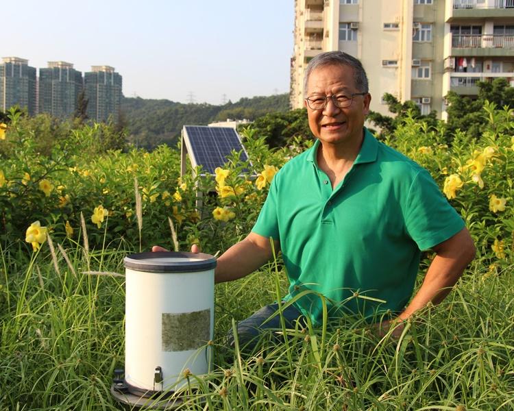 天文台前助理台長梁榮武期望,可盡多一分力,令港人更切身關注氣候變化。