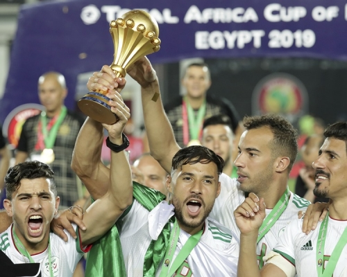 【非國盃】1:0勝塞內加爾 阿爾及利亞捧盃