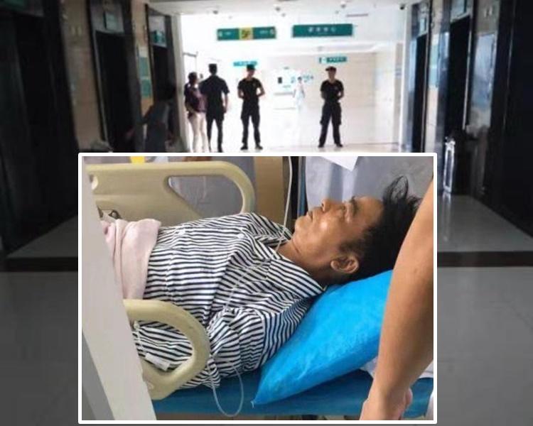 任達華在醫院接受手術治療,及獲院方合作嚴守華哥所在之樓層。