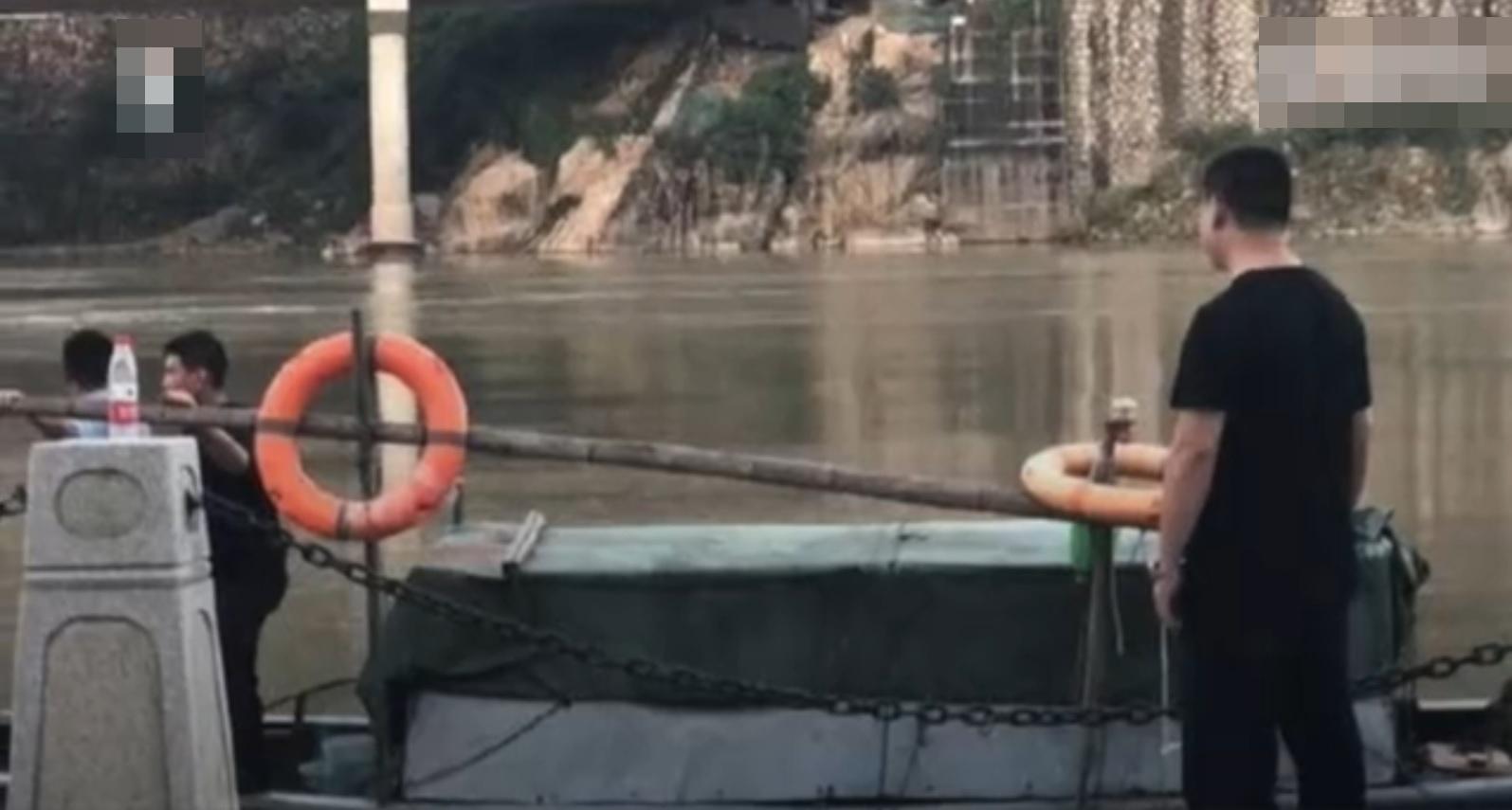 青田縣公安局發通報,指已在江中尋獲其屍體。網圖