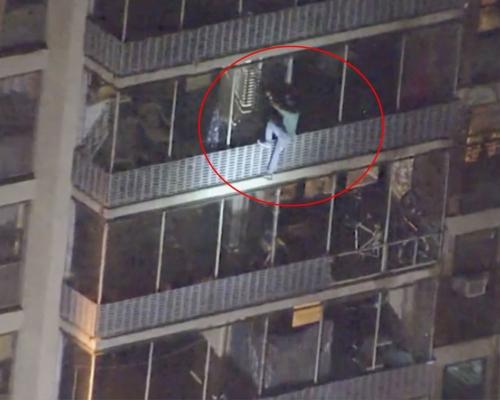費城大廈火警 男子為探母化身蜘蛛俠徒手爬15層樓