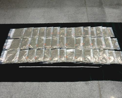 混雜車厘子機場海關檢170萬元大麻花 男子被捕