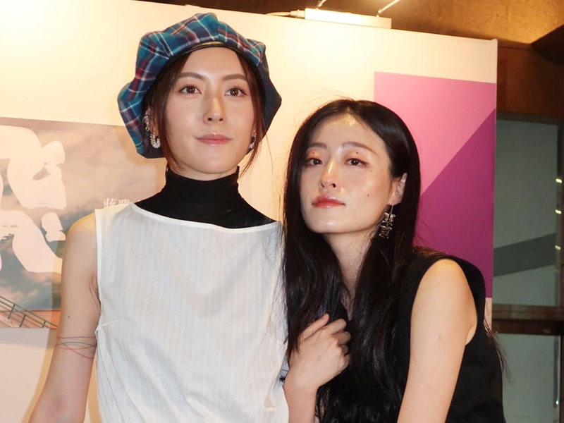 蔣雅文兩姐妹首度合作出書。