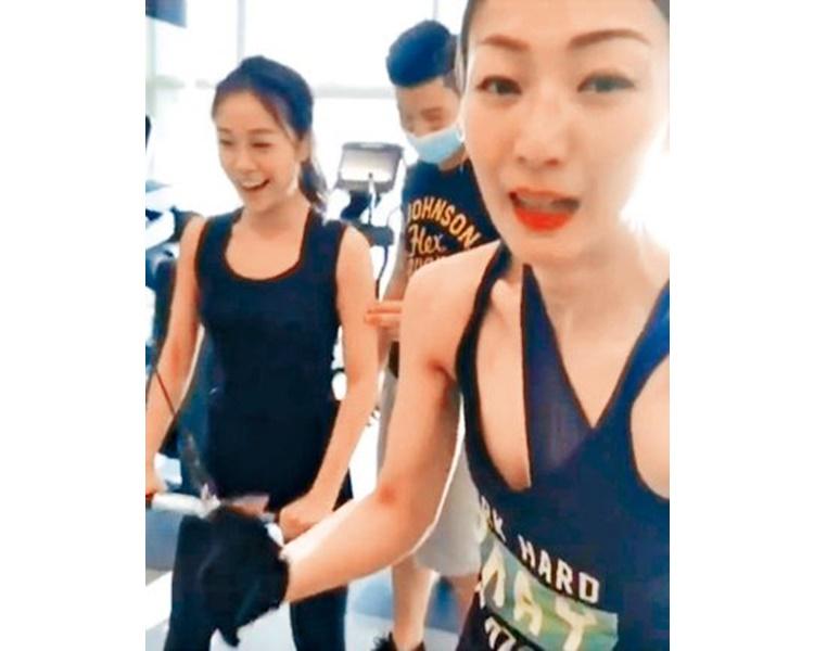鄭秀文曾與小三黃心穎用同一個健身室。