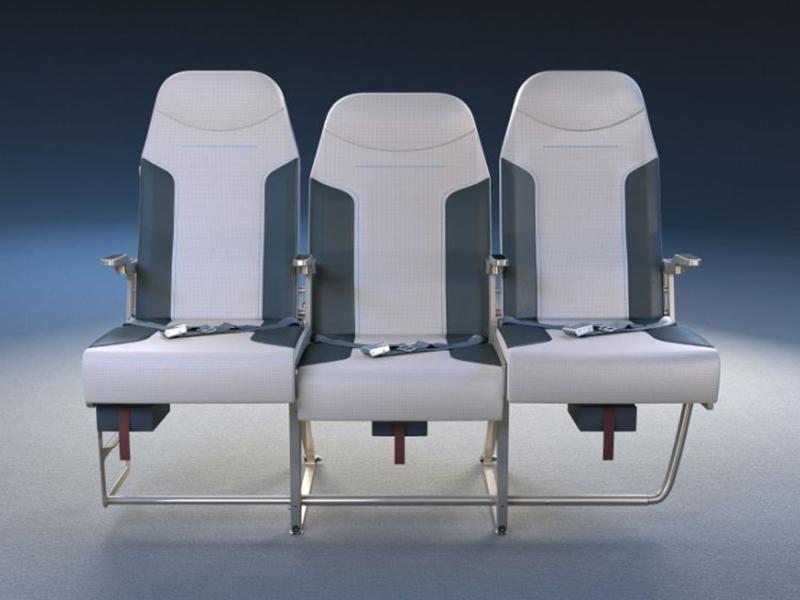 跟傳統的三座位相比,中間位比左右兩邊稍稍靠後,高度亦稍為降下,低於左右兩邊的座位。 網圖