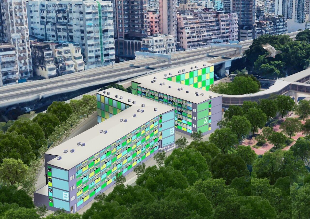 社聯欽州街項目概念圖。