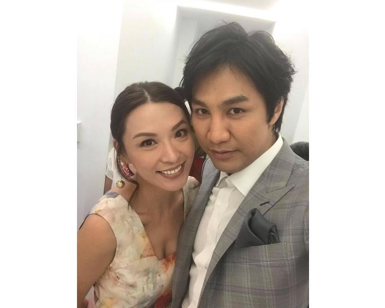陳煒與醫生男友公開戀情,心情大靚。