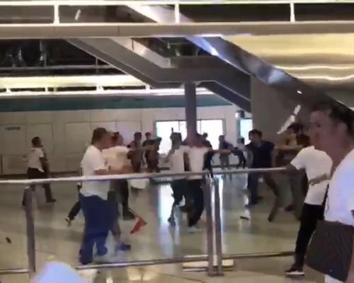 【元朗暴力】民陣譴責「白衣人」追打反修例人士