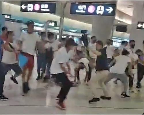 【元朗暴力】港鐵強烈譴責暴力事件 對乘客經歷深表遺憾