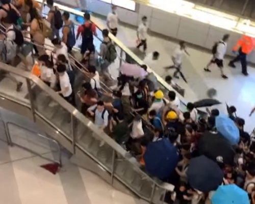 【元朗暴力】市民報警求助 接線中心:驚你就唔好出街