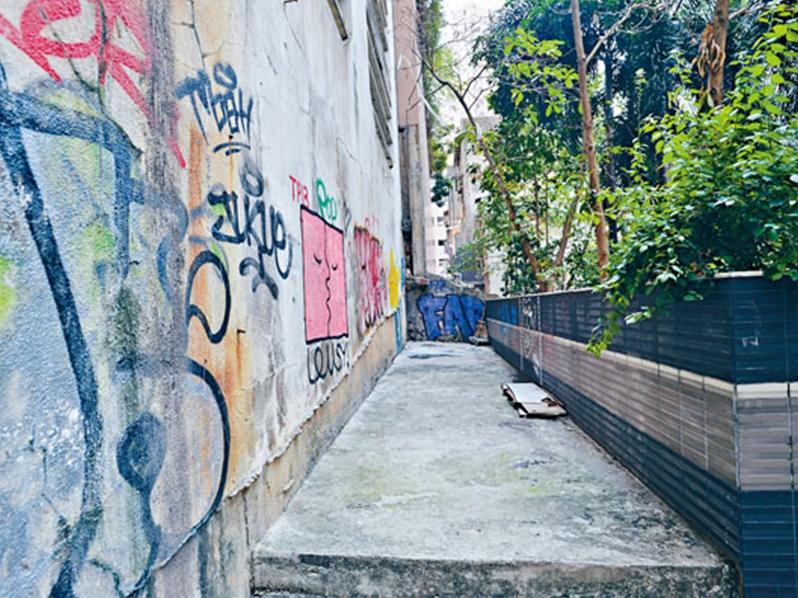 永利街打造社區「聚腳點」。