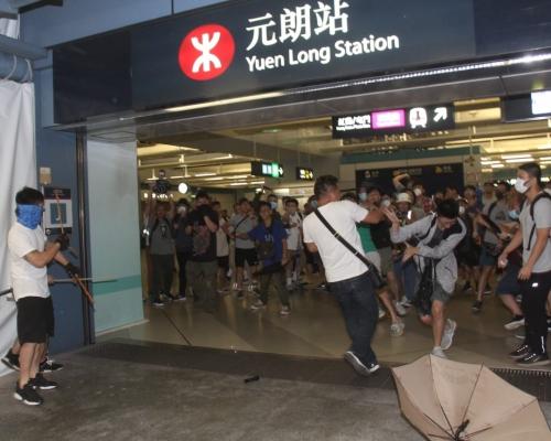 【元朗暴力】將軍澳區遊行延期 網民籲支持元朗反黑遊行