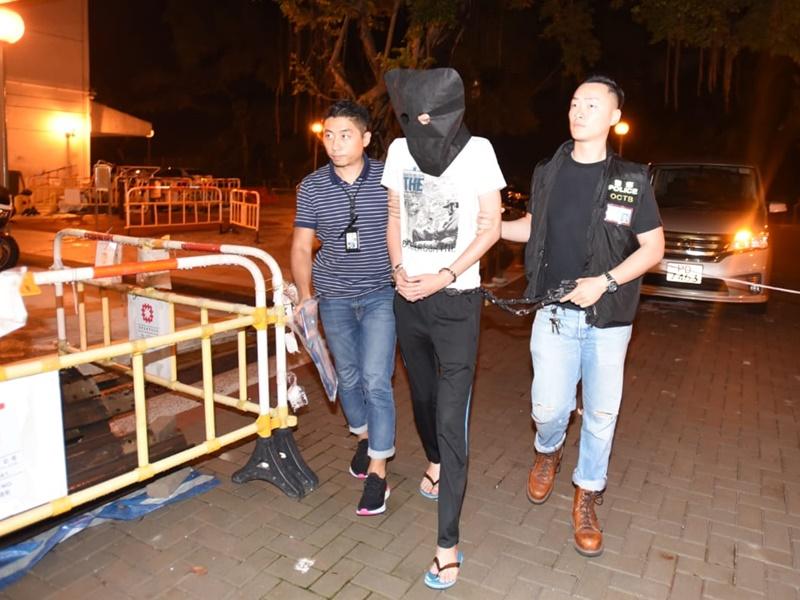 香港民族陣綫一名骨幹成員及兩名活躍港獨運動的同黨先後被捕。 資料圖片