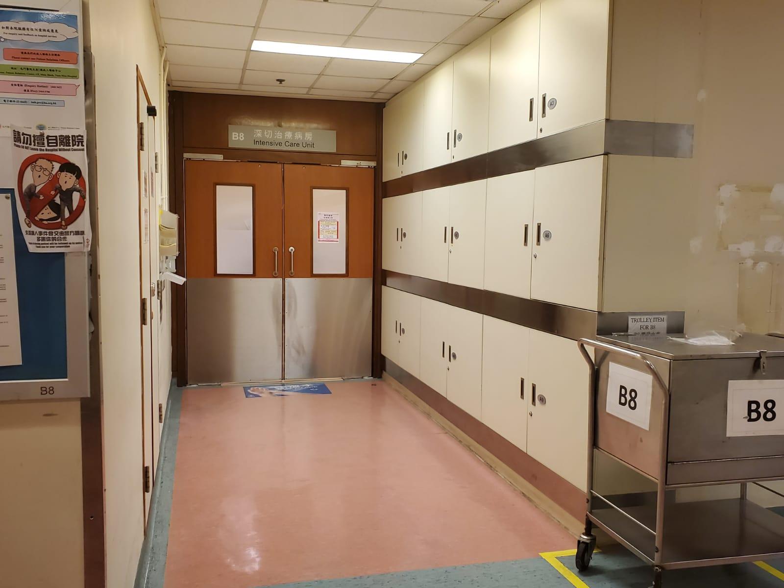 事主送屯門醫院救治。