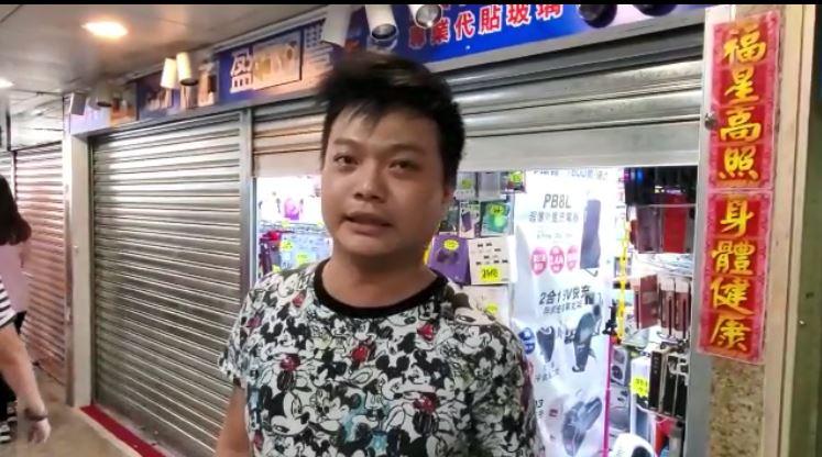 經營零售店的李先生