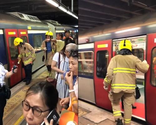 上水站女子墮軌圖自殺 列車服務一度受阻