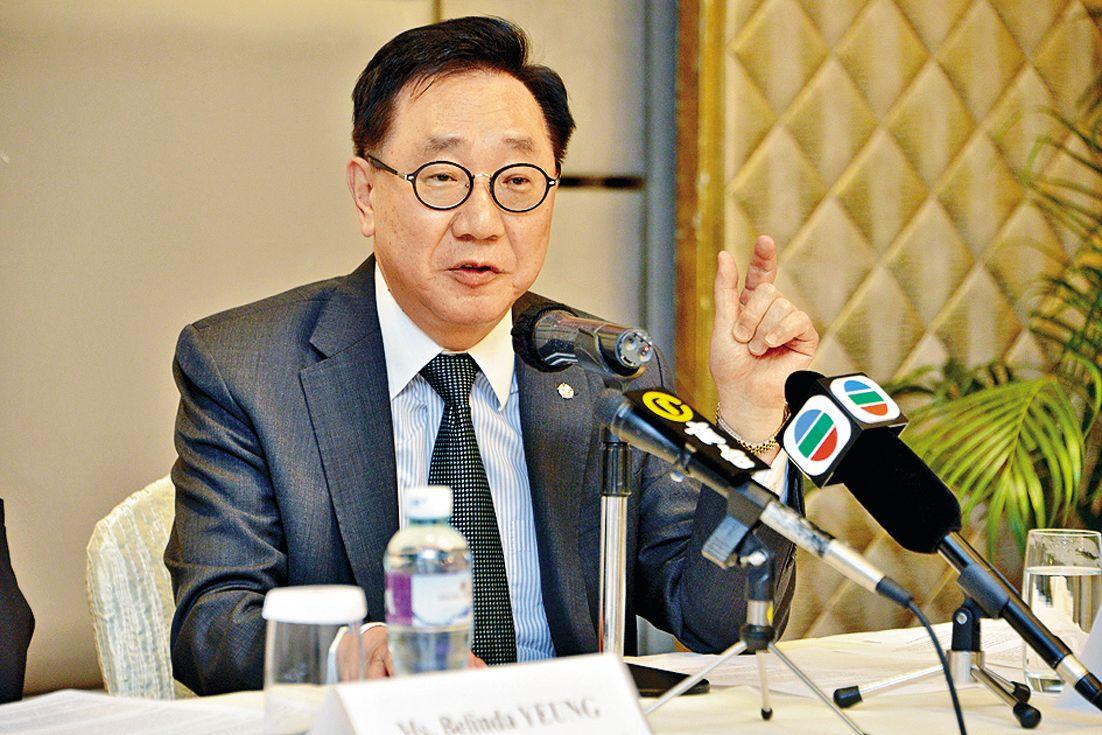 酒店業主聯會執行總幹事李漢成。 資料圖片