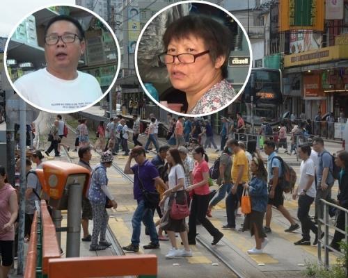 【元朗暴力】商戶恢復營業 居民心有餘悸晚上盡量「唔落街」