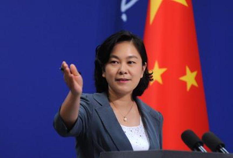 華春瑩表示,中央政府堅決反對一切暴力和非法行為。 資料圖片