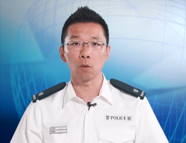 劉肇邦。警察facebook