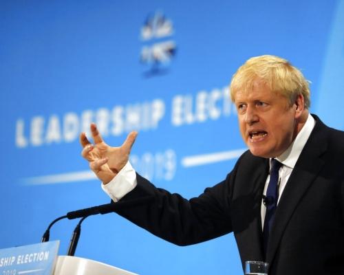 前外相約翰遜擊敗侯俊偉當選保守黨黨魁 接任英國首相