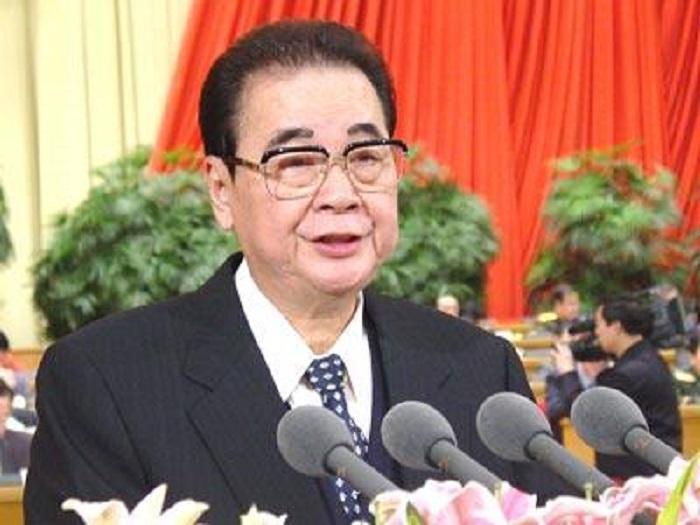 前總理李鵬逝世。網上圖片