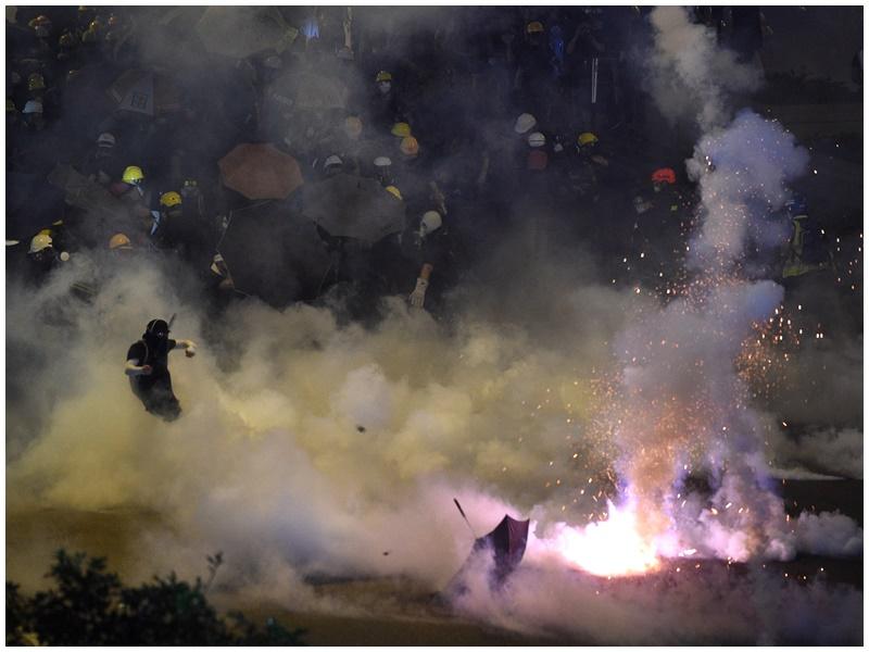 民陣指社會不穩可能破壞香港馳名國際的營商環境和旅遊天堂美譽。資料圖片