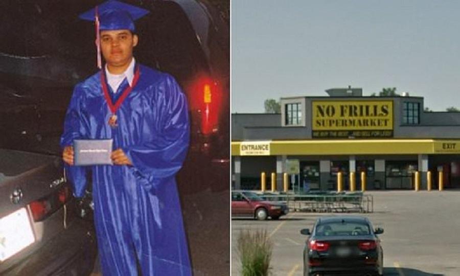 失蹤超市店員賴瑞被發現困空隙達10年。網上圖片