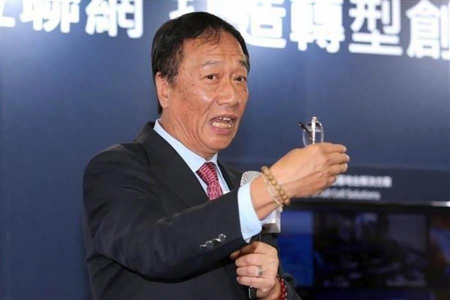 鴻海創辦人郭台銘。網圖