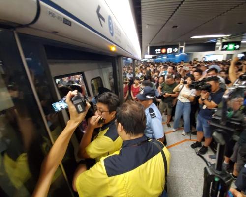 【元朗暴力】網民發不合作運動圖癱瘓金鐘站 抗議港鐵未保護乘客