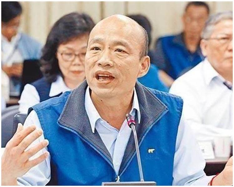 高雄市長韓國瑜將代表國民黨角逐明年總統大選。網圖