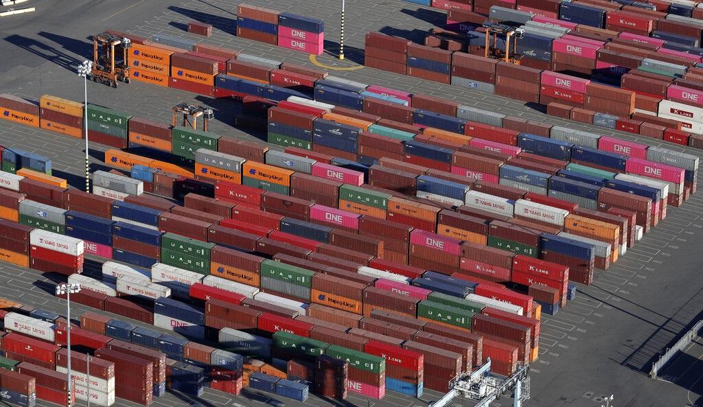 商務部指,中企開展貿易採購和中美重啟經貿磋商「沒有直接關係」。AP