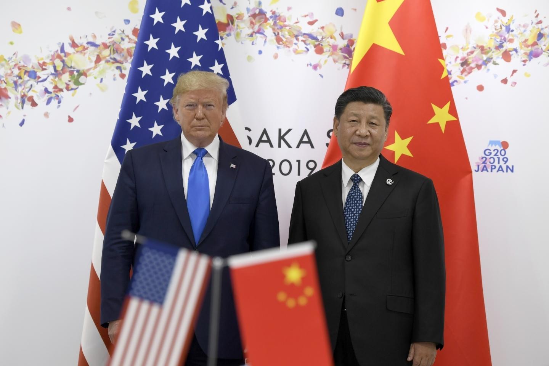 中美貿易已開戰一年多。AP圖