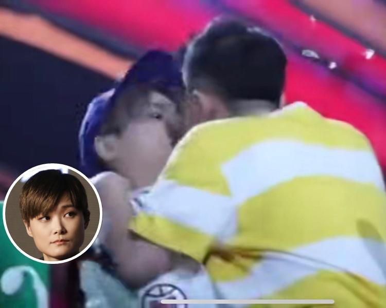 李宇春曾遭狂迷強吻。