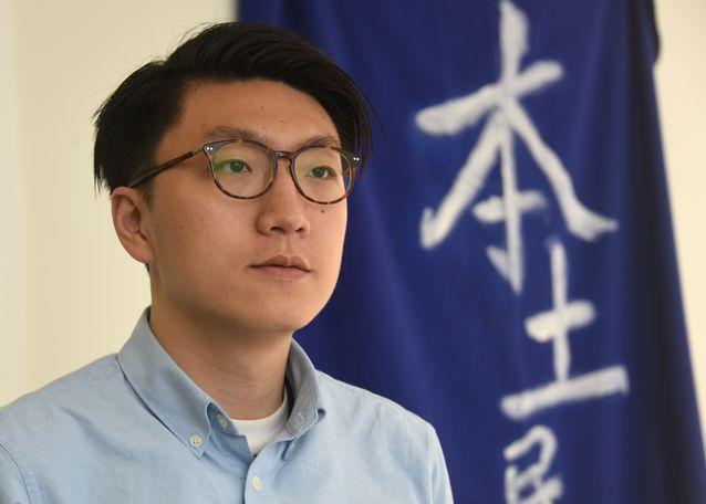梁天琦在信中指,香港人不要被仇恨支配自己,在危難中,仍要時刻保持警覺與思考。 資料圖片