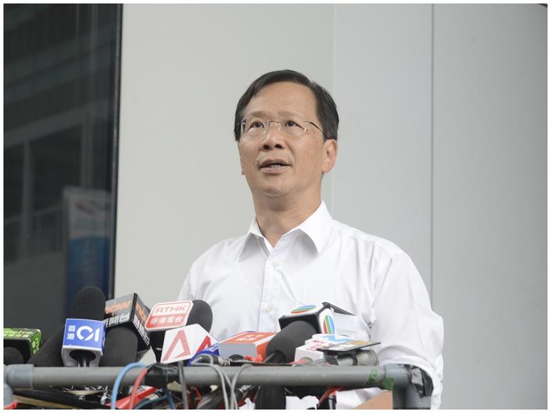 郭家麒指4警協會會見張建宗屬越權。資料圖片