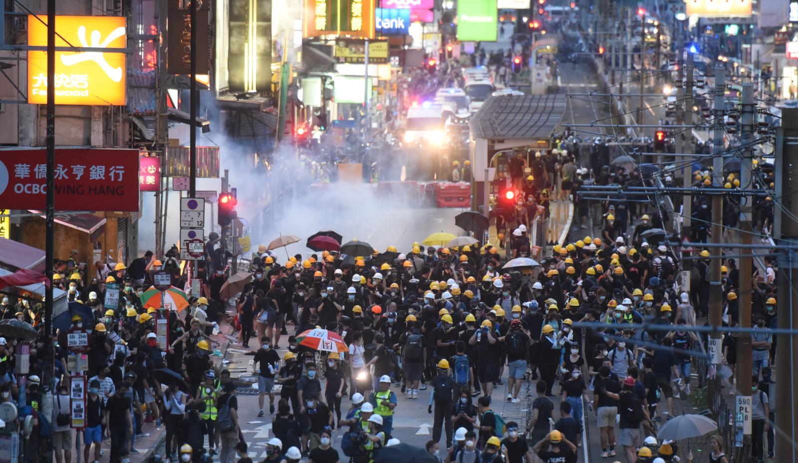 本港修訂《逃犯條例》引發連串示威衝突。