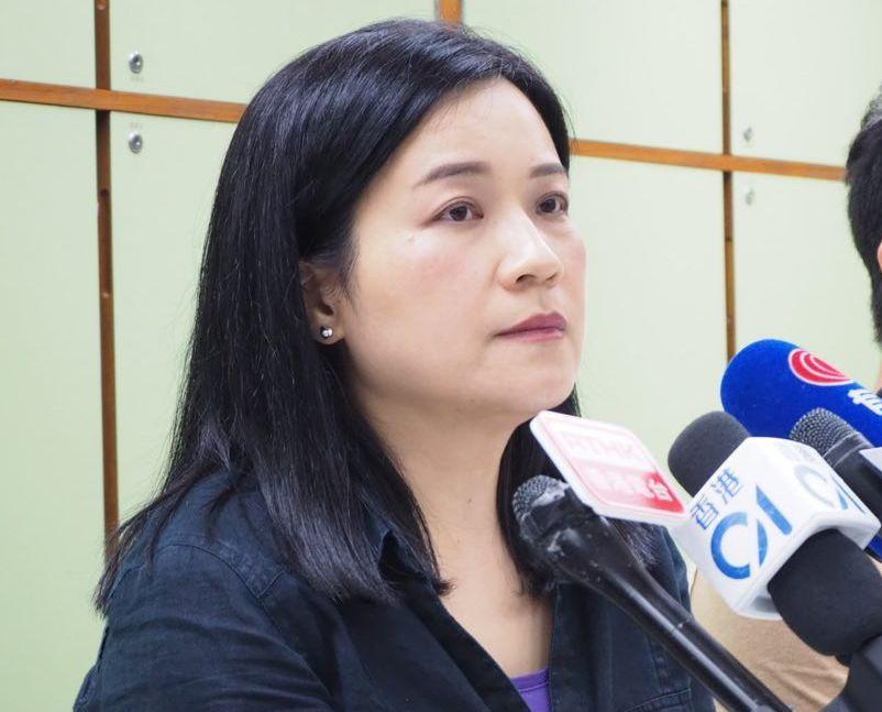 吳敏兒表示,目前屬下所有工會已經通過支持罷工。