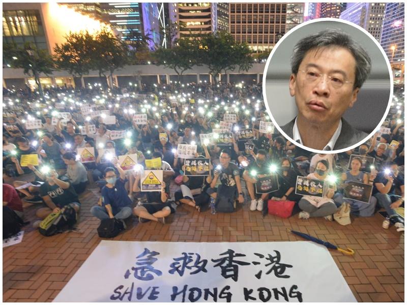 李國麟(小圖)指政府令港人患上「周末綜合症」。資料圖片